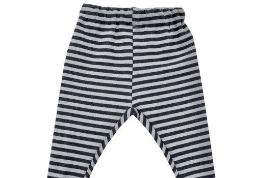 BAMBOOM BAMBOOM - Pants - Stripe Antracite/Fango
