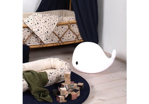 Filibabba FILIBABBA - Nachtlamp XL - Whale Christian