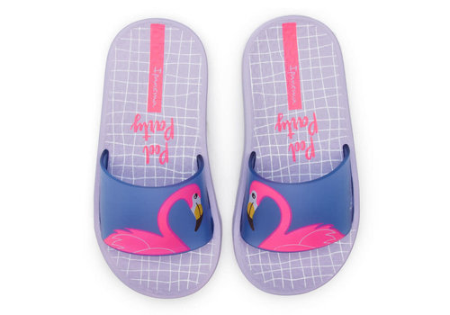Ipanema IPANEMA - Urban Slide kids - Violet/Blue