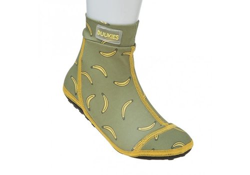 DUUKIES DUUKIES Beachsocks - Bananas Green Yellow