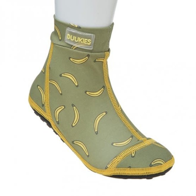DUUKIES Beachsocks - Bananas Green Yellow