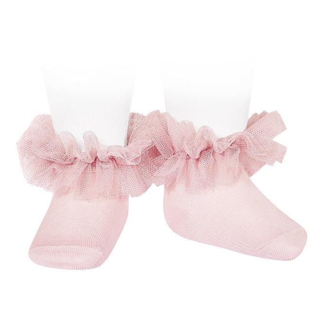 CONDOR - Enkelsokken - Tulle  Baby Pink (500) (500)