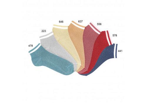 CONDOR CONDOR - Enkelsokken met Glitter - Verschillende kleuren