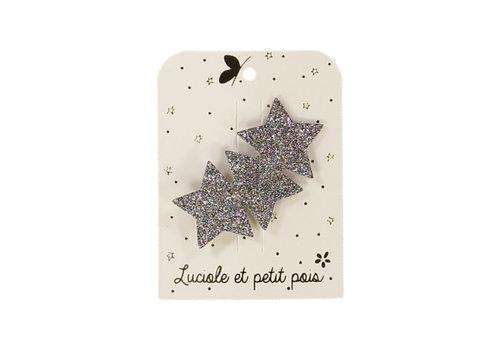 Luciole et Petit Pois LUCIOLE ET PETIT POIS - Duo Haarspelden - Stars Multi