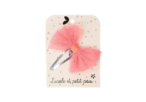 Luciole et Petit Pois LUCIOLE ET PETIT POIS - Solo Haarspelden - Tutu Strik Neon Pink