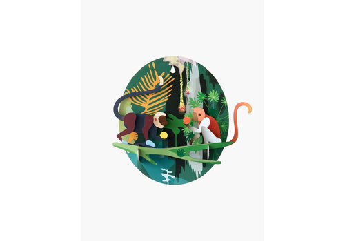 Studio Roof STUDIO ROOF - Walldecor - Jungle Monkeys