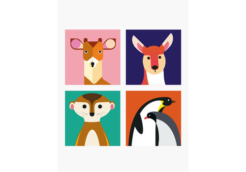 Studio Roof STUDIO ROOF - Magnets Wild Animals - Fawn