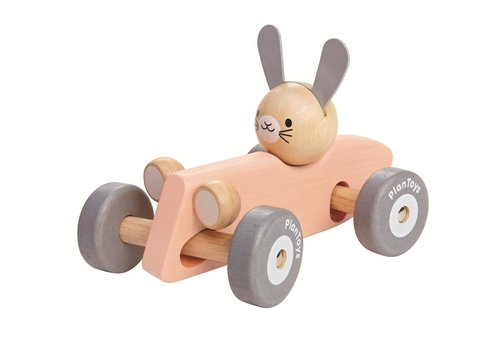 Plantoys PLANTOYS - Racer Car Konijn