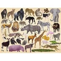 Crocodile Creek - Puzzel - Wild Animals (300stuks)