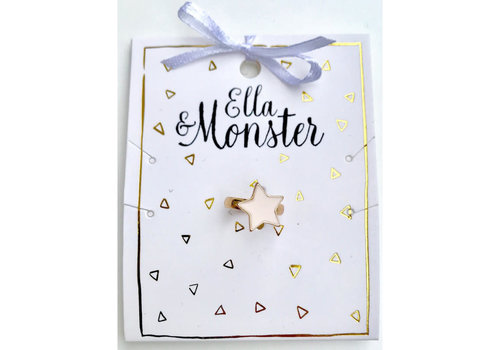Ella&Monster ELLA&MONSTER - Ring - Ster