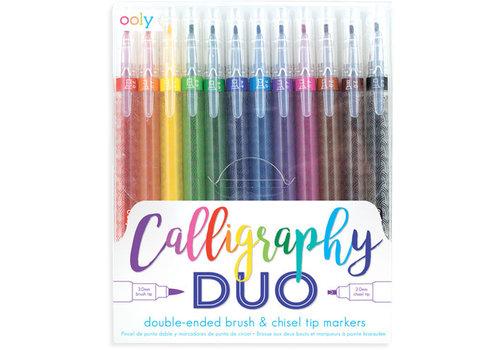 "Ooly OOLY - Dubbelzijdige stiften ""Calligraphy"""