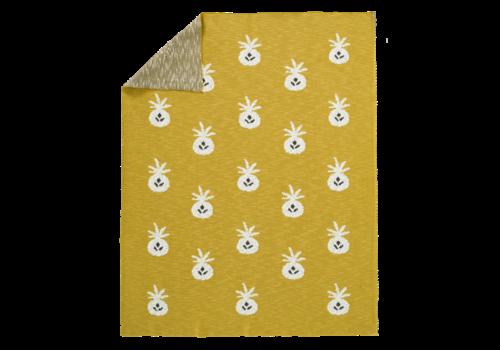 Fresk FRESK - Gebreide deken - Ananas 80x100