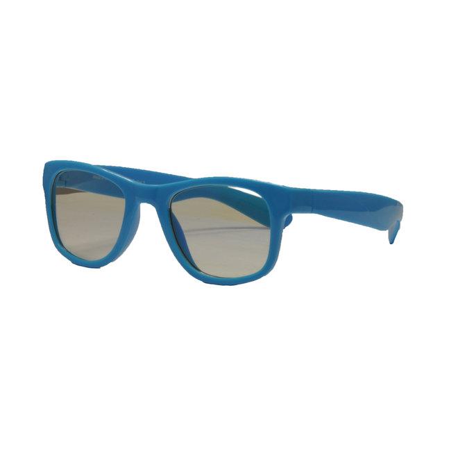 Real Shades - Screen Shades Neon Blue  +4 UVA/UVB protect