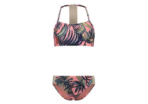 SHIWI - Crop top Bikini - Tropics Light Coral