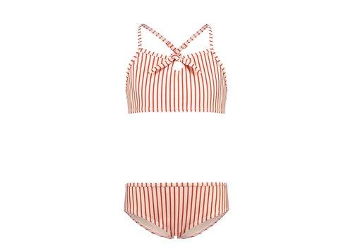 SHIWI - Scoop top Bikini - Bora Bora St Cream