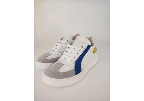 Morelli MORELLI - Sneaker - SCARPA STRINGA Metal/Bianco/Royal/Giallo