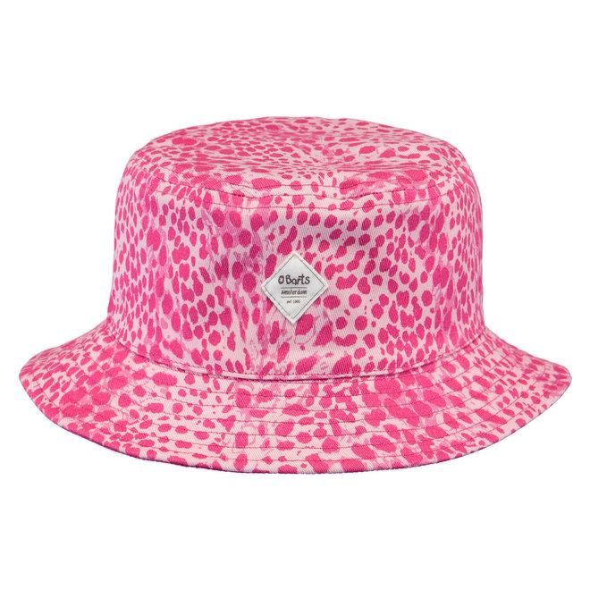 BARTS - Zomerhoed Tweezijdig - Leopard Pink /Fuchsia
