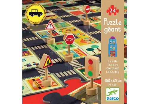 Puzzel Geant - La Ville