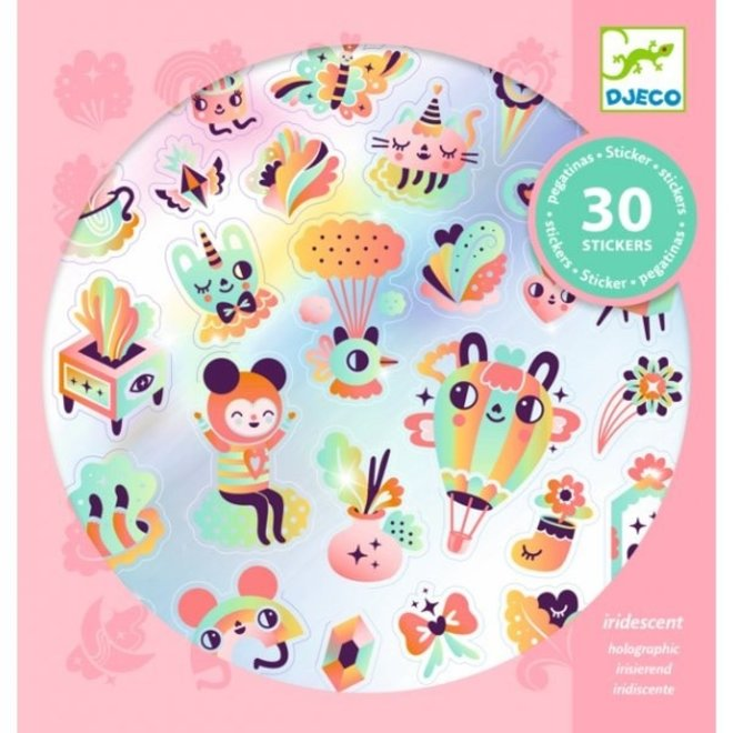 DJECO - Stickers - Regenboog