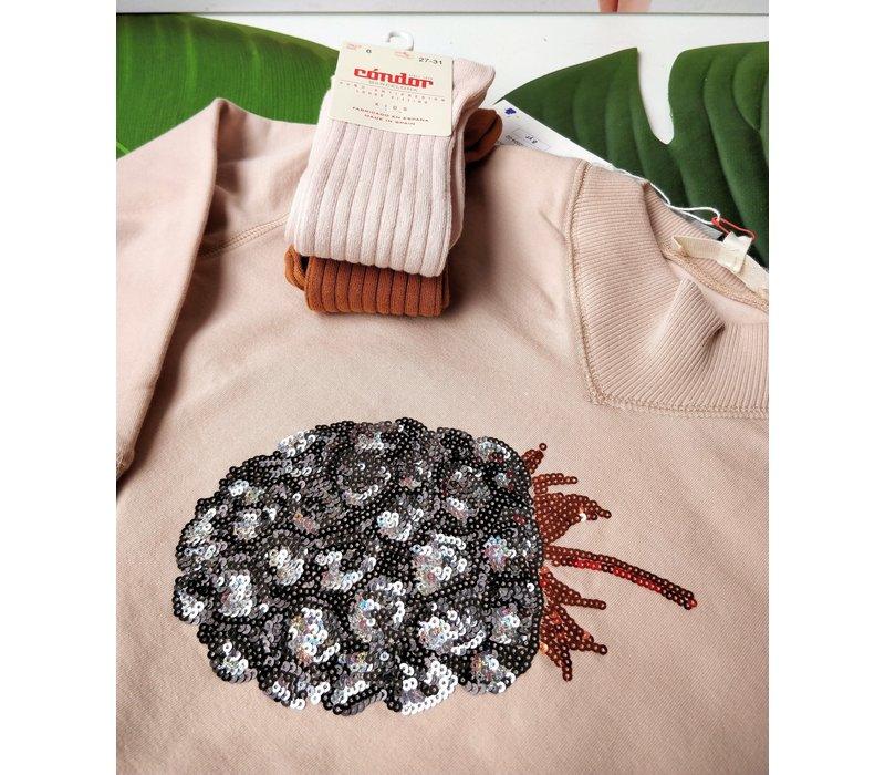 Outlet - Anne Kurris - Sweater Powder - Maat 110/128/140