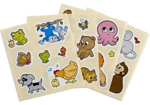 Crayola CRAYOLA - Mini Kids - Stickers Dieren ( Herbruikbaar!)