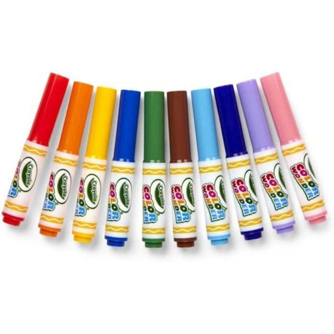 CRAYOLA  - Color Wonder -10 kleurloze Viltstiften