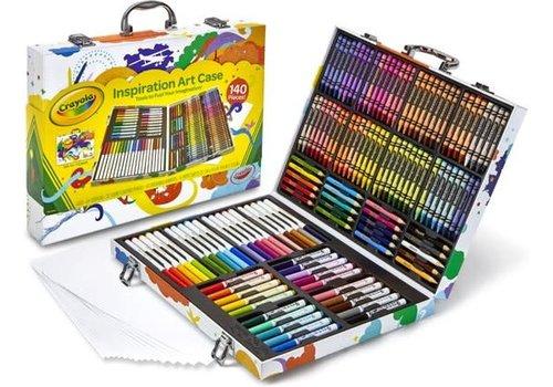 Crayola CRAYOLA - Colouring - Complete Kleurkoffer (140stuks)