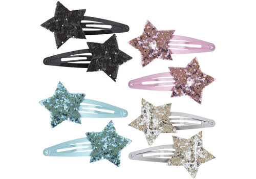 Global Affairs GLOBAL AFFAIRS - Hairclips - Glitter Star