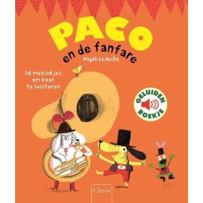 CLAVIS - Geluidenboek - Paco en de fanfare