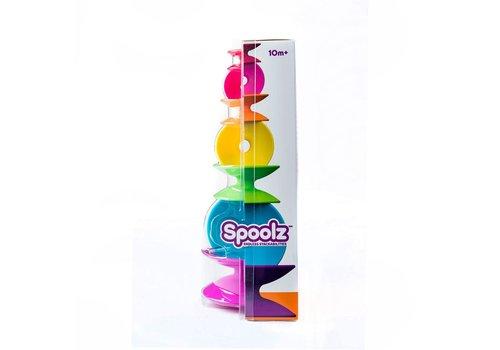 Fat Brain Toys FAT BRAIN TOYS - Spoolz - Set van 7 Spoelen