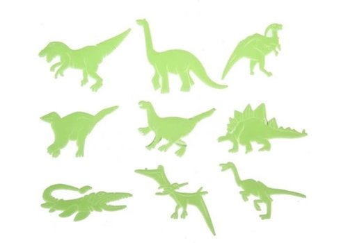 4M 4M - Lichtgevende Dino's - 8 stuks