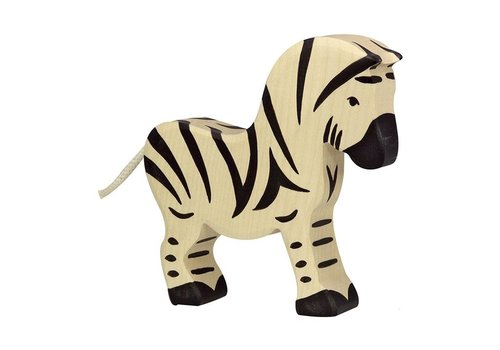 Holztiger HOLZTIGER Wildernis - Zebra 15x3x14cm