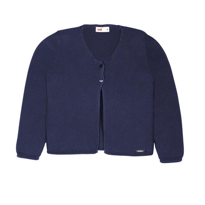 CONDOR - Cardigan - Navy Blue (480)
