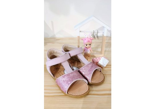 Two Con Me TWO CON ME - Sandalen - Paillettes Rose