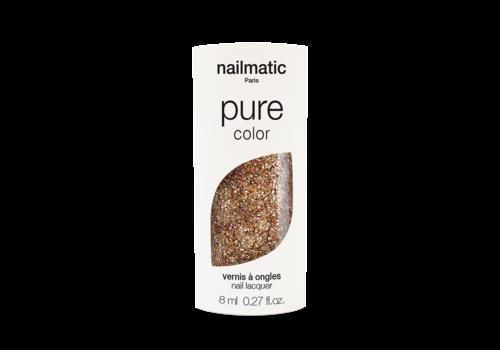 Nailmatic NAILMATIC - Pure Nagellak - Koper Glitter
