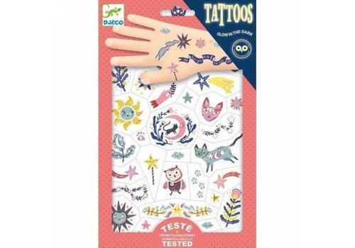 "DJECO - Tattoo - Sweet Dreams ""Glow in the Dark"""