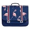 Jeune Premier PRESALE - JEUNE PREMIER - Boekentas Midi - Flamingo
