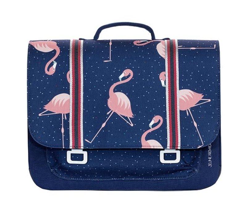 PRESALE - JEUNE PREMIER - Boekentas Midi - Flamingo