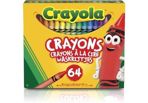 Crayola CRAYOLA - Colouring - Waskrijtjes 64stuks