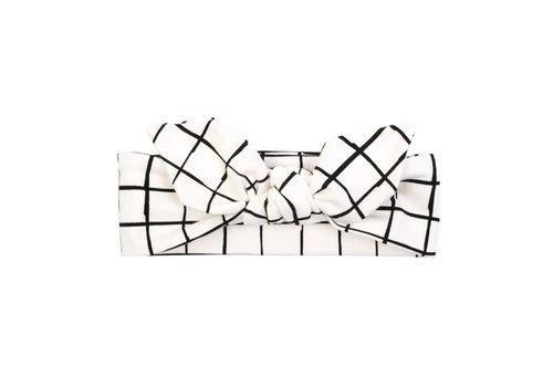 Ul&Ka UL&KA - Haarband - White With Check