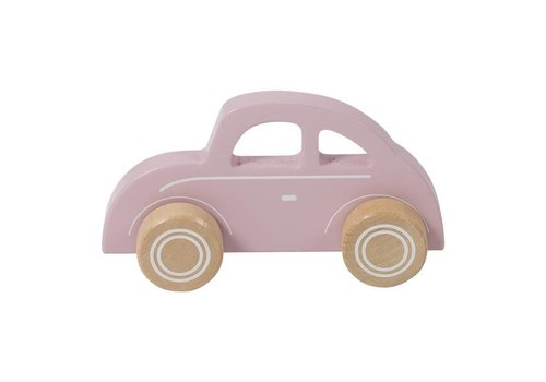 Little Dutch LITTLE DUTCH - Houten Auto - Pink