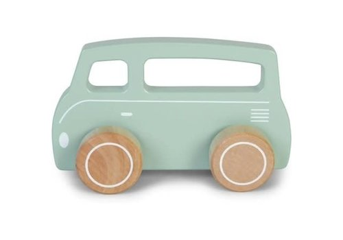 Little Dutch LITTLE DUTCH - Houten Busje - Mint