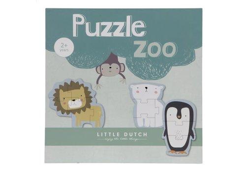 Little Dutch LITTLE DUTCH - Puzzel - Dierentuin