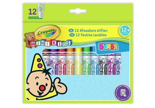 Verjaardagslijst CRAYOLA - Mini Kids - Bumba Viltstiften (+12maanden)