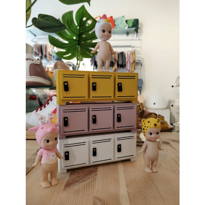 PROJECT DOLLHOUSE - Locker laag - Okergeel
