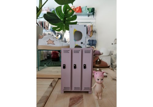 PROJECT DOLLHOUSE - Locker hoog (3) - Oudroze
