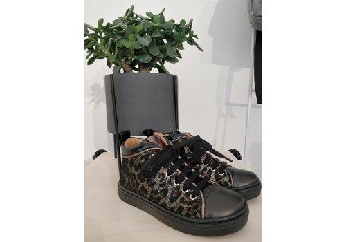Romagnoli ROMAGNOLI - Sneaker - Nero/Leopard