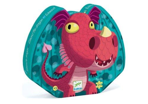 DJECO - Puzzel - Edmond le Dragon