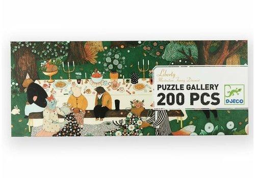 DJECO - Gallery Puzzel - Liberty 200stuks