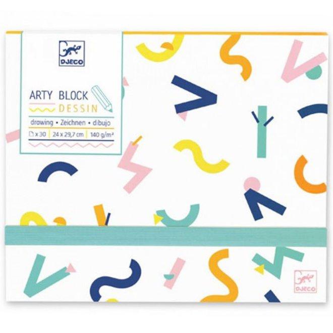 DJECO - Papier - Arty Bloc